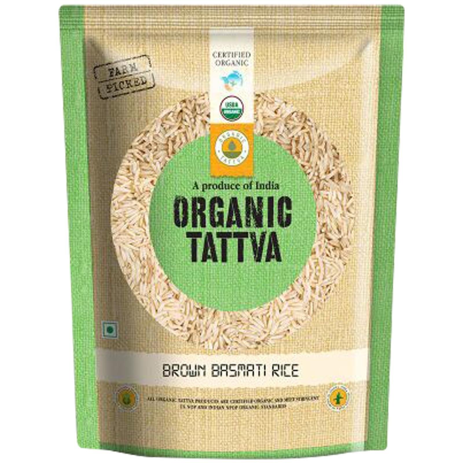 Tatva Organic Brown Basmathi Rice 1kg