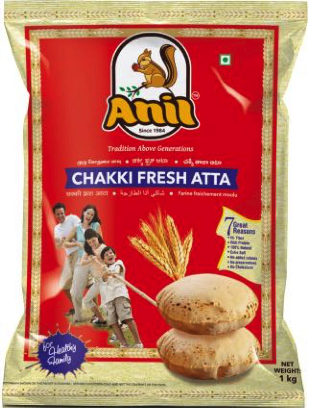 Anil Chakki Fresh Atta 5kg