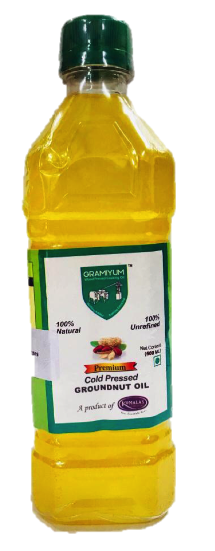 Gramiyum Wood / Cold Pressed Groundnut Oil  1L