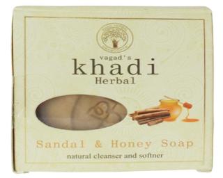 Vagad's Khadi  Sandal & Honey Soap